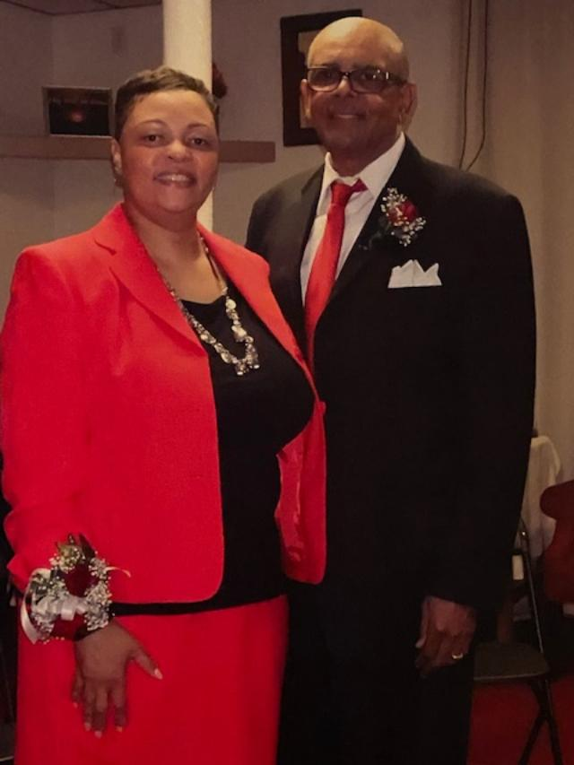 Pastor Robert Miller and First Lady M. Miller